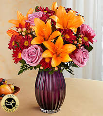 FTD-Autumn Splendor Bouquet in Chelsea MI, Chelsea Village Flowers