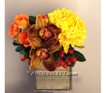 Indian Summer Floral Design in Etobicoke ON, VANDERFLEET Flowers