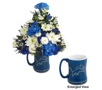 Lions Mug Bouquet in Southfield MI, Thrifty Florist