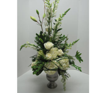 Custom Memorial Arrangement in Traverse City MI, Teboe Florist
