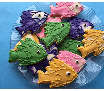 Tropical fish Cookies in Portland OR, Portland Florist Shop