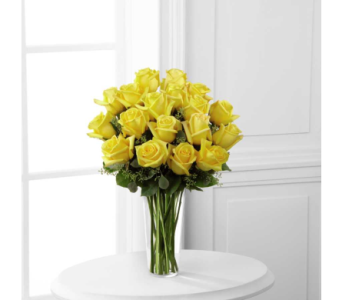 Yellow Rose Bouquet - Deluxe 18 stem in Arizona, AZ, Fresh Bloomers Flowers & Gifts, Inc