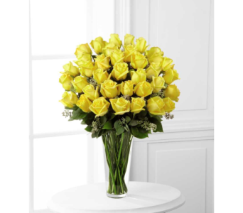 Yellow Rose Bouquet - Exquisite 36 stems in Arizona, AZ, Fresh Bloomers Flowers & Gifts, Inc