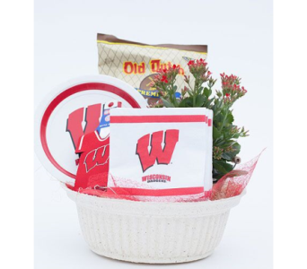 Wisconsin Badger Basket in Oshkosh WI, House of Flowers
