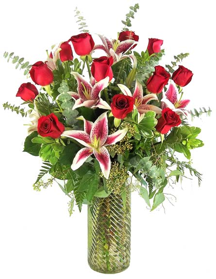 Gazers and Corazon Roses in Fort Myers FL, Fort Myers Florist, Inc.