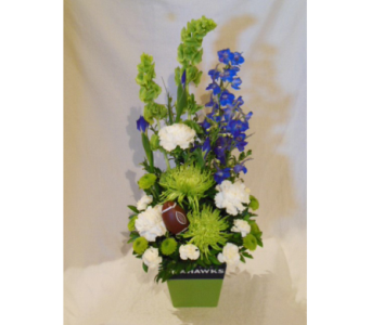 Seahawks First Down Bouquet in Renton WA, Cugini Florists