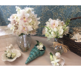 Custom Beach Wedding in Vero Beach FL, Artistic First Florist