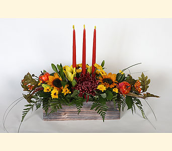 Harvest Centerpiece in Southampton PA, Domenic Graziano Flowers