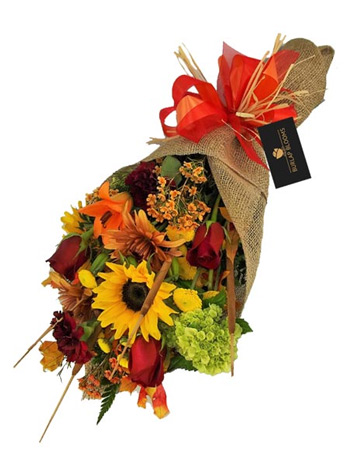 Burlap Blooms: Fall into Autumn in Las Vegas NV, A French Bouquet