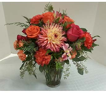Orange Radiance in Asheville NC, Kaylynne's Briar Patch Florist, LLC