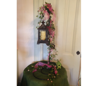 Fantasia Lantern With Memory Candle in Crafton PA, Sisters Floral Designs