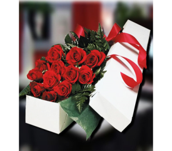 Boxed Roses (Hand Delivered) in Indianapolis IN, George Thomas Florist