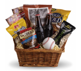 Take Me Out To The Ballgame Basket in Norristown PA, Plaza Flowers