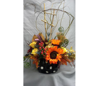 Whimsical Pumpkin in Fairless Hills PA, Flowers By Jennie-Lynne