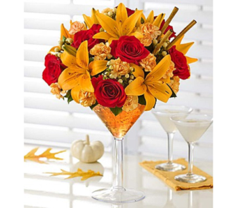 Martini Bouquet� Pumpkin Spice in Las Vegas NV, A French Bouquet