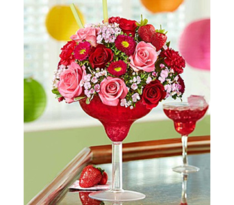 Strawberry Floral Margarita� in Las Vegas NV, A French Bouquet