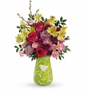 Teleflora's Hello Spring Bouquet in Tyler TX, Flowers by LouAnn