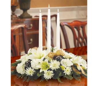 Glowing Elegance Centerpiece in Indianapolis IN, George Thomas Florist
