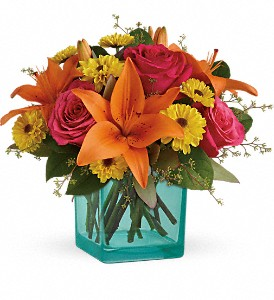 Teleflora's Fiesta Bouquet in Chicago IL, La Salle Flowers