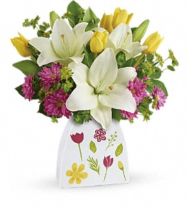 Teleflora's You Shine Bouquet in St. Petersburg FL, Delma's, The Flower Booth