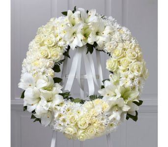 Wreath of Remembrance in Whittier CA, Ginza Florist