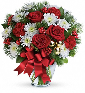 Merry Beautiful Bouquet in Bakersfield CA, White Oaks Florist