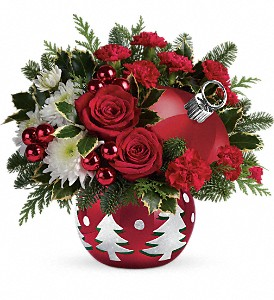 Teleflora's 'Tis The Season Bouquet in El Cajon CA, Jasmine Creek Florist