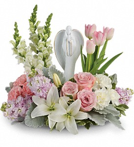 Teleflora's Garden Of Hope Bouquet in College Park MD, Wood's Flowers and Gifts