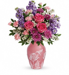 Teleflora's Love And Joy Bouquet in Peoria IL, Flowers & Friends Florist