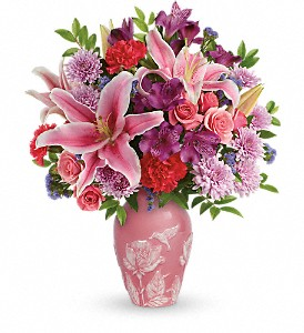 Teleflora's Treasured Times Bouquet in Huntington Beach CA, A Secret Garden Florist