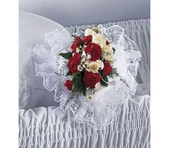 Sympathy Casket Pillow in Indianapolis IN, George Thomas Florist
