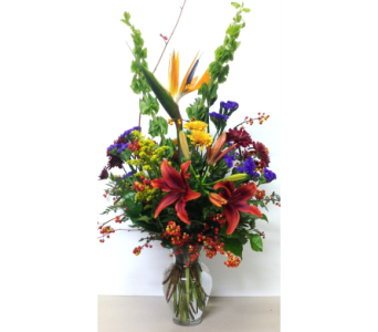 Flavors of Fall - 9 inch Garden Vase - All Around in Wyoming MI, Wyoming Stuyvesant Floral