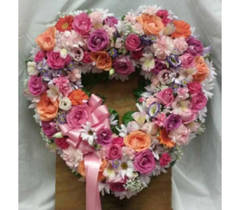 Open Heart 1 in Belford NJ, Flower Power Florist & Gifts