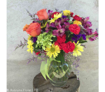 BRIGHT & BEAUTIFUL by Rubrums in Ossining NY, Rubrums Florist Ltd.