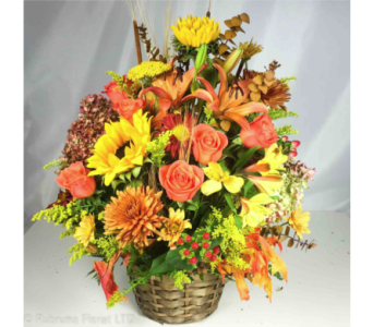 AUTUMN ABUNDANCE by Rubrums in Ossining NY, Rubrums Florist Ltd.