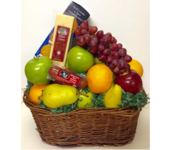 Classic Fruit and Gourmet Basket in Wyoming MI, Wyoming Stuyvesant Floral