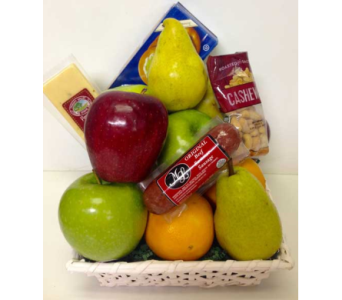 Assorted Fruit & Gourmet Basket in Wyoming MI, Wyoming Stuyvesant Floral