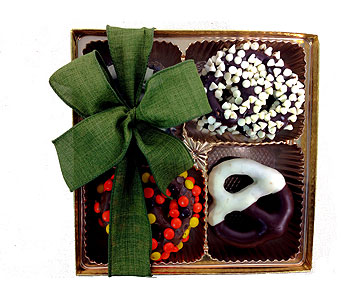 Classic Gourmet Chocolate Covered Pretzel Box in Baltimore MD, Raimondi's Flowers & Fruit Baskets
