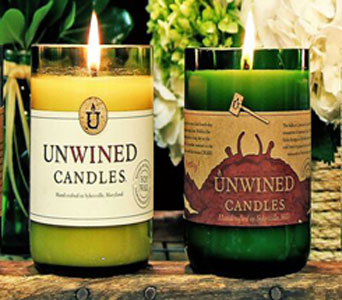 Unwined Candles in Baltimore MD, Raimondi's Flowers & Fruit Baskets