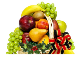 Holiday Fruit Basket  in Ferndale MI, Blumz...by JRDesigns