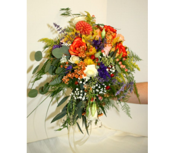 Wild Garden Bouquet in Asheville NC, Kaylynne's Briar Patch Florist, LLC