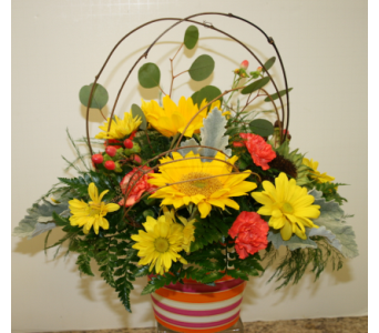 Cranberry Contemporary in Asheville NC, Kaylynne's Briar Patch Florist, LLC