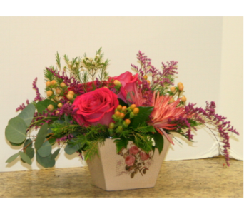 Garden Rose Box in Asheville NC, Kaylynne's Briar Patch Florist, LLC
