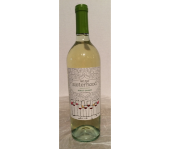 Wine Sisterhood Pinot Grigio in Gahanna OH, Rees Flowers & Gifts, Inc.