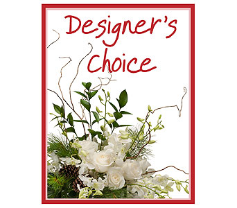 Designer's Choice - Winter in Attleboro MA, Flowers By The Station