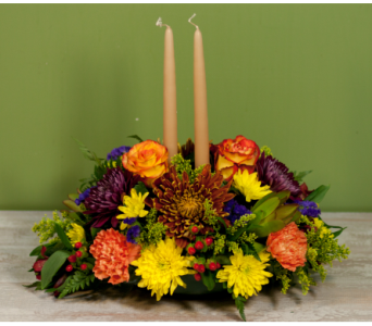 The Bellmore Thanksgiving Centerpiece in Merrick NY, Feldis Florists