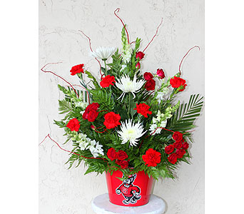 Red and White Pride in Cary NC, Cary Florist