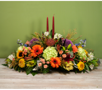 The Feldis Thanksgiving Centerpiece in Merrick NY, Feldis Florists