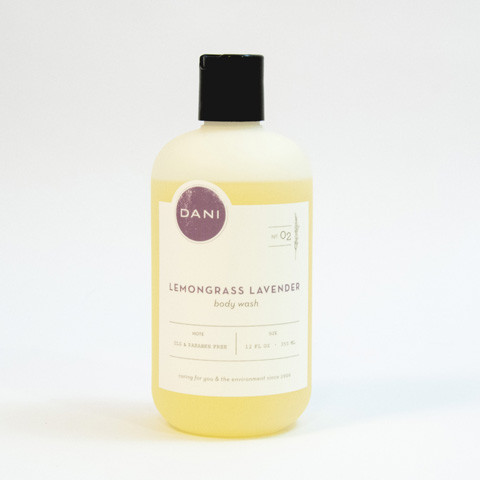 DaniBath Lavender Lemongrass Body Wash in Kentfield CA, Paradise Flowers