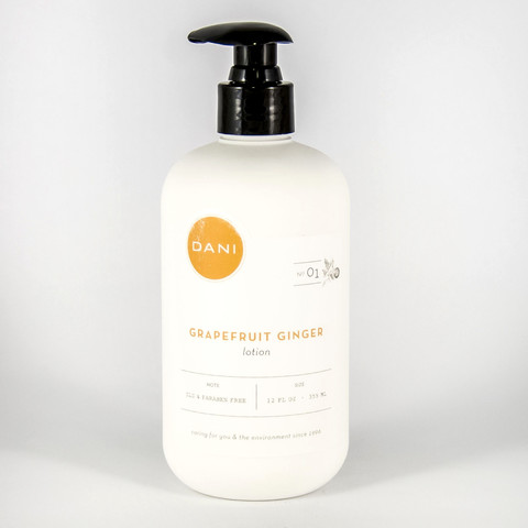 DaniBath Grapefruit Ginger Body Lotion in Kentfield CA, Paradise Flowers